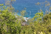 The trail to Anse Major